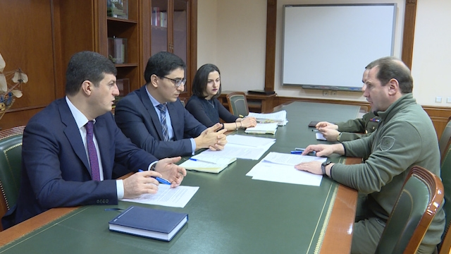 Meeting of the Government Agent before the ECHR with the Minister of Defence