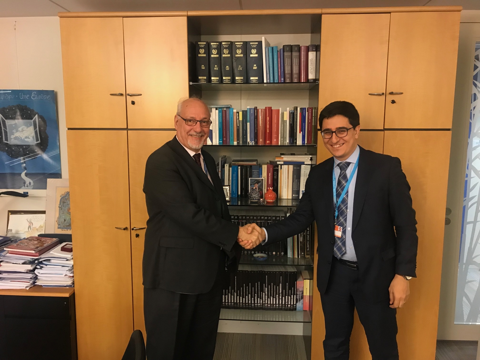 The Government Agent of Armenia before the ECHR paid a working visit to Strasbourg